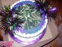 Britney Spears Birthday Cake 4