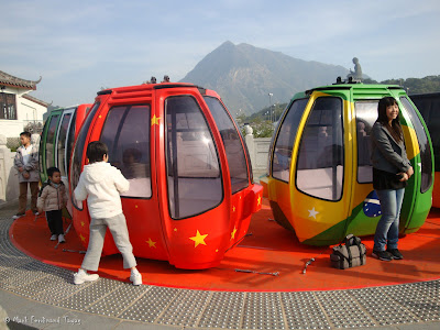 Ngong Ping 360 Miniature Cable Car Photo 3