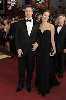Brad Pitt Angelina Jolie Oscars 2009 dress