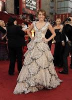 Miley Cyrus Oscars 2009 dress