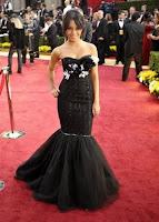 Vanessa Hudgens Oscars 2009 dress