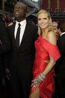 heidi Klum Oscars 2009 dress