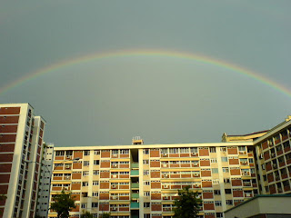 Rainbow in Singapore Picture 1