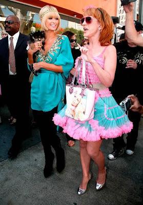 Paris Hilton and Kathy Griffin