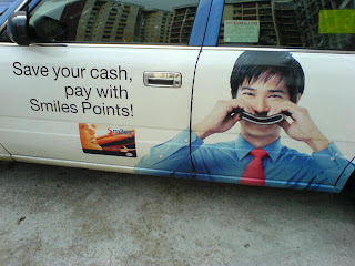 Taxi Advertising in Singpapore