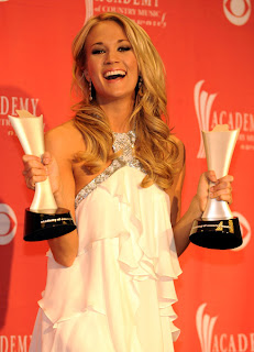 Carrie Underwood 2009 Academy of Country Music Awards Winners