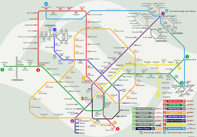 Possible Map of Singapore MRT