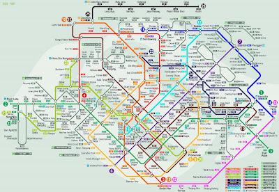 Speculative Singapore MRT Line