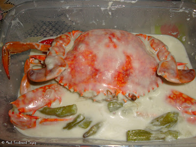 Alimango sa Gata (Crab in Coconut Milk) Photo 4