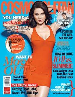 Kristine Hermosa Cosmopolitan Magazine June 2009