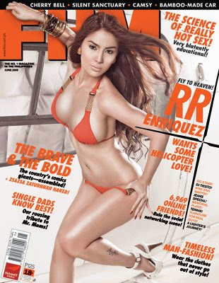 RR Enriquez FHM Philippines June 2009
