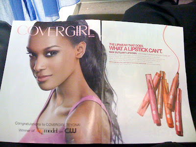 Teyona Anderson CoverGirl Ad