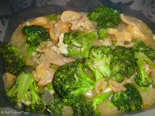 Beef Broccoli with Mushroom Recipe
