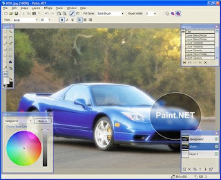 Free Alternative To Adobe Photoshop (Paint.Net)