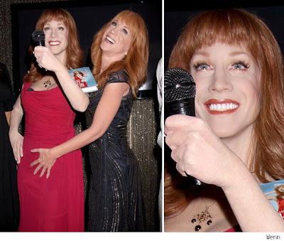 Kathy Griffin Wax Figurine