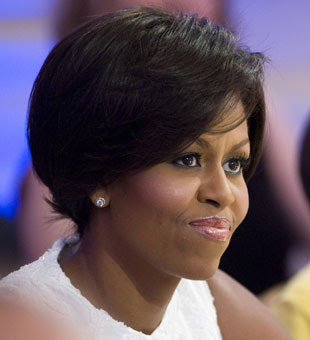 Michelle Obama's Bob Cut Hair