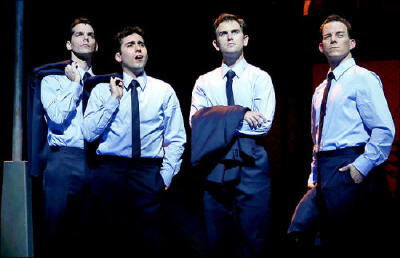 Jersey Boys cast