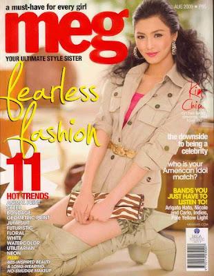 Kim Chui Meg Magazine Cover