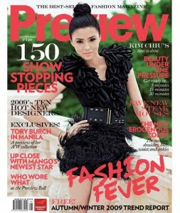 Kim Chiu Preview Magazine September 2009