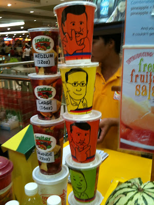 Fruitas Political Ads Plastic Cups