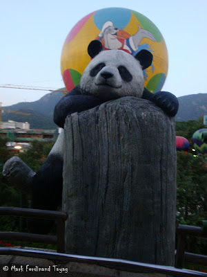 Giant Panda Habitat Ocean Park Hong Kong Photo 2