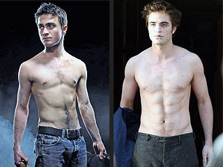 Daniel Radcliffe vs Robert Pattinson