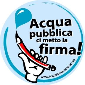 Manifestazione per l'acqua bene comune