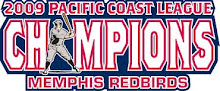 Memphis Redbirds - 2009 Pacific Coast League Champions