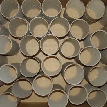 toilet paper cardboard cylinders