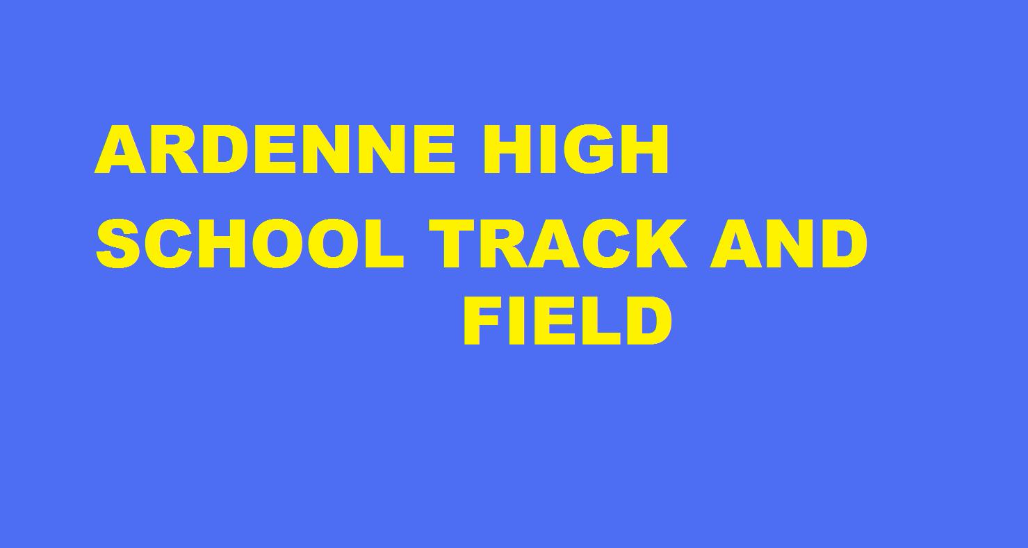 Ardenne High School Track and Field