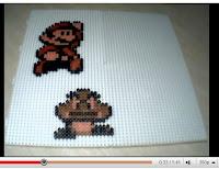 Mario, Megaman et Link en stop motion - vidéo