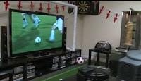 La salle ultime pour les nolifes fan de foot... [vidéo]