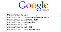 Google search story Coupe du Monde 2010