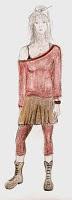 Boceto vestuario Laura.