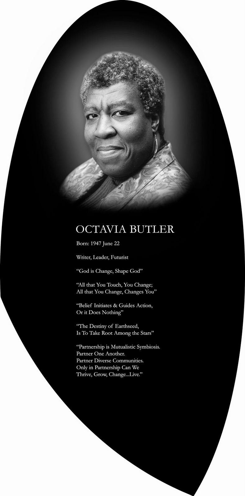 Octavia Butler Memorial Dedication