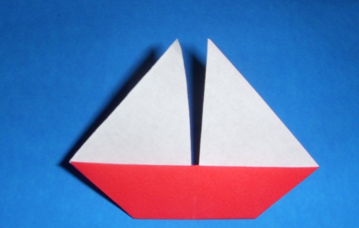 origami sail boat 171 embroidery amp origami