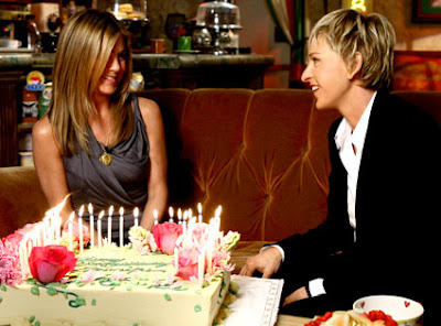 jennifer aniston 40th birthday naked pictures