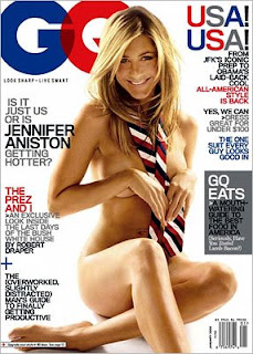 jennifer aniston naked topless pictures gq cover