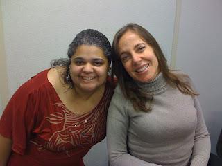 Mara e Kica de Castro