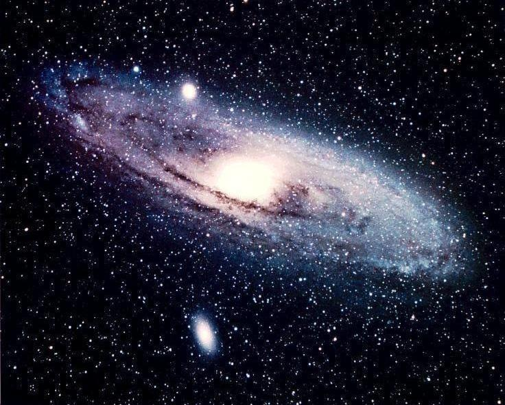 A sister galaxy