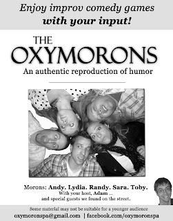 facebook.com/OxymoronsPA