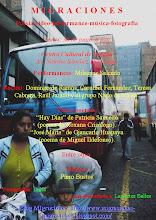 Migraciones, lunes 30 de junio, 6 pm, CC.España