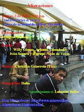 Migraciones, jueves 3 de julio, 8 pm, Antares