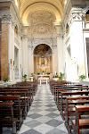 Iglesia Santa Maria de la Luz en Trastevere