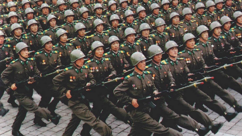 north korean army training. Regular Officer Training