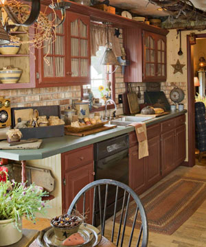 Sunnybrook a farmhouse kitchen counter decor for Country kitchens south africa
