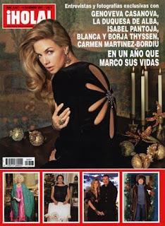 Chismoseando la revista hola esta semana for Revistas de espectaculos de esta semana