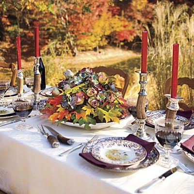 Easy Thankgiving Table Setting Ideas