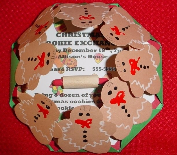 homemade christmas party invitations
