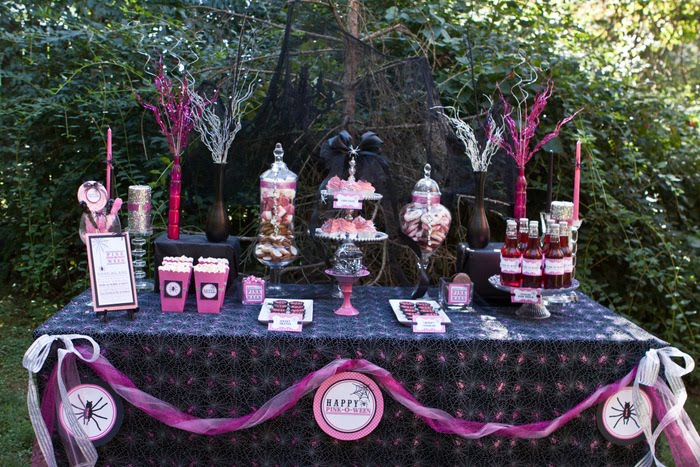 Sparkle With A Pink o ween Party Oh My Creative